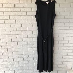 NWT Black Michael Kors Wide Leg Jumpsuit - XL